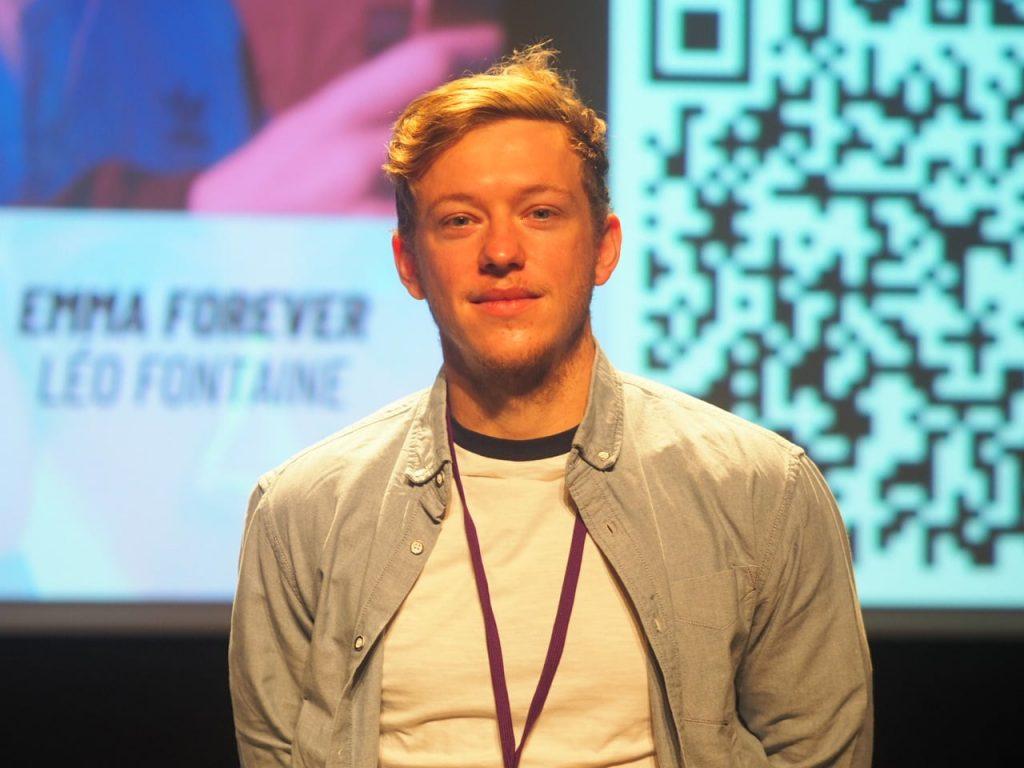 Léo Fontaine au Festival du Film Jeune de Lyon 2020